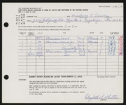Entry card for Shelton, Elizabeth S. for the 1963 May Show.