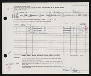 Entry card for Tichy, Rose M. for the 1963 May Show.