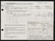 Entry card for Andres, Richard for the 1964 May Show.