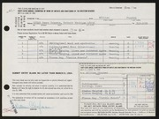 Entry card for Chapman, William for the 1964 May Show.