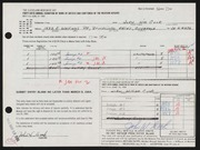 Entry card for Cook, John William for the 1964 May Show.
