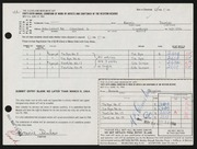 Entry card for Dumalo, Bonnie for the 1964 May Show.