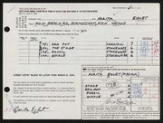 Entry card for Eglet, Norita Ann for the 1964 May Show.