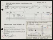 Entry card for Greco, Anthony Joseph for the 1964 May Show.