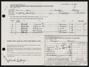 Entry card for Henry, Charles R. for the 1964 May Show.