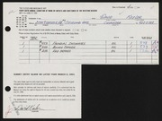 Entry card for Keeler, David B. for the 1964 May Show.