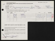 Entry card for Kievets, Dennis C. for the 1964 May Show.