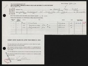 Entry card for Soble, Arlene for the 1964 May Show.