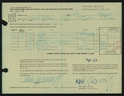 Entry card for Greenwold, Mark A. for the 1965 May Show.