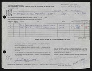 Entry card for Wooddell, Joseph M. for the 1965 May Show.
