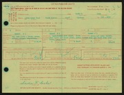 Entry card for Cole, Sadie F. for the 1966 May Show.