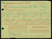 Entry card for Drbal, Susan Sigler for the 1966 May Show.