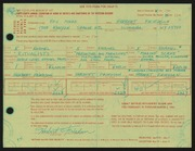 Entry card for Friedson, Herbert Harold, and Moore, Rex for the 1966 May Show.