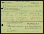 Entry card for Grauer, William C. for the 1966 May Show.