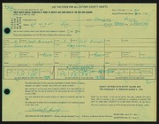 Entry card for Henry, Charles R. for the 1966 May Show.