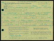 Entry card for Janicki, Hazel for the 1966 May Show.