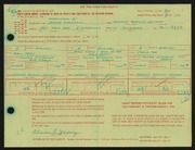 Entry card for Jeffery, Charles Bartley, and Wooddell, Joseph M. for the 1966 May Show.