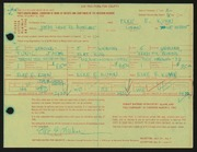 Entry card for Kuhn, Elke E. for the 1966 May Show.