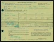 Entry card for McMurray, Thomas for the 1966 May Show.