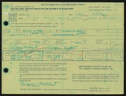 Entry card for Muhlert, Christopher for the 1966 May Show.