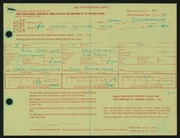 Entry card for Schniertshauer, Herman for the 1966 May Show.