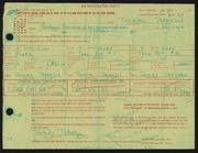 Entry card for Takaezu, Toshiko for the 1966 May Show.