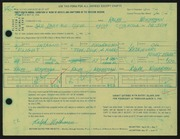 Entry card for Woehrman, Ralph for the 1966 May Show.