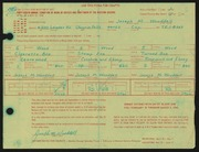 Entry card for Wooddell, Joseph M. for the 1966 May Show.