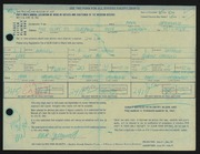 Entry card for Greenwold, Mark A. for the 1967 May Show.