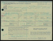 Entry card for Janicki, Hazel for the 1967 May Show.