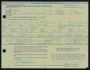 Entry card for Keeler, David B. for the 1967 May Show.