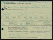 Entry card for Kramer, Gerald for the 1967 May Show.
