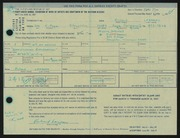 Entry card for Lazzaro, Richard for the 1967 May Show.