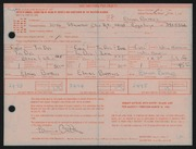 Entry card for Battles, Elaine Kay for the 1968 May Show.
