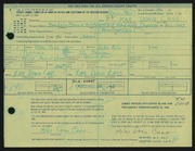 Entry card for Cass, Katherine Dorn for the 1968 May Show.