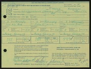 Entry card for Goldsmith, Arthur for the 1968 May Show.