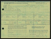 Entry card for Grauer, William C. for the 1968 May Show.