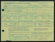 Entry card for Landies, Douglas Cameron for the 1968 May Show.