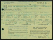Entry card for Lang, Kara for the 1968 May Show.