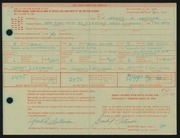 Entry card for Latimore, Grant F. for the 1968 May Show.