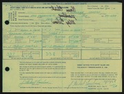 Entry card for Lenehan, J. Michael for the 1968 May Show.