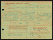 Entry card for McMillen, Dorothy Ruby for the 1968 May Show.
