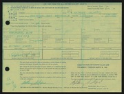Entry card for Schepis, Anthony Joseph for the 1968 May Show.