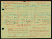 Entry card for Someroski, James Melvin for the 1968 May Show.