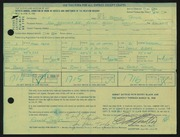 Entry card for Taylor, Ronald D. for the 1968 May Show.