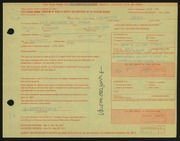 Entry card for Jones, Lauretta for the 1971 May Show.