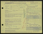 Entry card for McMurray, Thomas for the 1971 May Show.