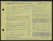 Entry card for Manente, Michael for the 1971 May Show.
