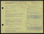 Entry card for Morrell, John F. for the 1971 May Show.