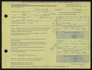 Entry card for Pomplas, Albert G. for the 1971 May Show.
